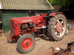 McCormick tractor.
